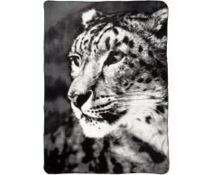 B@Home Fairbanks Coperta, 130 x 180 cm, Leopard