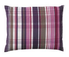 Tom Tailor 575010 T-New Check - Federa per cuscino (senza imbottitura), 30 x 40 cm, colore: Fucsia