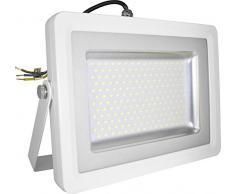 Faretto Led Esterno SMD 100W Slim Bianco Faro Luce Naturale V-TAC VT-48100