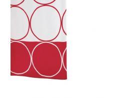 Ridder Circle 463860-350 Tenda da doccia in tessuto 180x200 cm colore: Rosso
