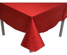 Soleil docre Tovaglia quadrata 180 x 180 cm FIESTA rossa
