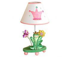 Fantasy Fields by Teamson Princess & Frog - Lampada da tavolo per bambini