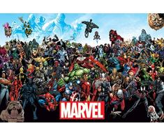 AMBROSIANA Marvel Universo Maxi Poster