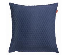 Esprit Home, Federa Beat per cuscino, 50 x 50 cm, Blu (Blau)