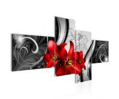Quadro Fiori Gigli - XXL Immagini Murale Stampa su Tela Decorazione da Parete Pronte per lapplicazione - 208441c