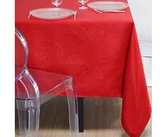 N67087005 STOF Tovaglia 140 x 140 cm 100 per cento poliestere, rosso