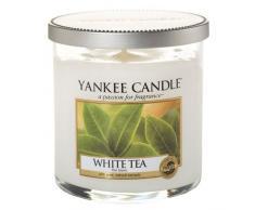 Yankee Candle Candela Piccola Colonna, Tè Bianco