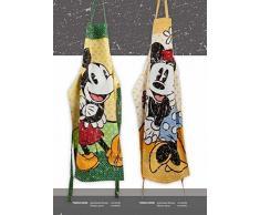 Disney TWM63/05MD Mickey Mouse Grembiule, Disegno Minnie, 60x90 cm