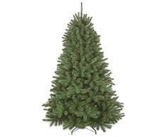Triumph Tree 788041 - Albero di Natale artificiale Forest Frosted Pine, altezza 185 cm, ø 130 cm, 942 rami, colore: Verde
