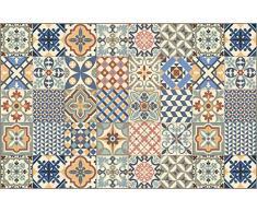 Vilber Toledo DU 01 100X155 Tappeto, Vinile, Multicolore, 100 x 155 x 0.22 cm