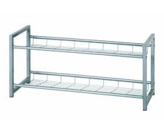 Haku Möbel Scarpiera, Alluminio (Alu)