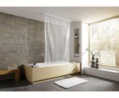 Kleine Wolke 3319100745 132 - Tenda per doccia ad angolo 56 x 240 cm, colore: Bianco