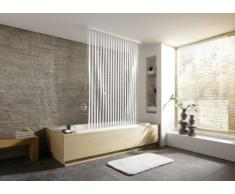 Kleine Wolke 3319100745 Tenda dangolo per doccia, 138x62x240 cm, bianca