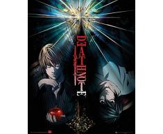 GB eye - Mini poster, 40 x 50 cm, motivo: Death Note, multicolore