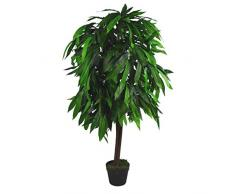 Leaf Pianta di Mango Artificiale XL, 120 cm