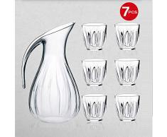Guzzini Aqua Set Caraffa Acqua e 6 Bicchieri, SMMA