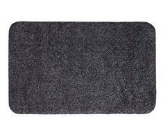 Andiamo 700607 Samson - Zerbino per ingresso in cotone, lavabile in lavatrice a 30 gradi, 50 x 80 cm, colore antracite
