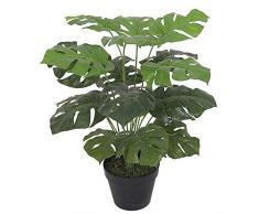 Leaf Design UK Monstera pianta Artificiale, 60Â cm