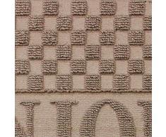 1740081 Deco Moquette Ingresso Ciao Polipropilene / Cao naturale 75 x 45 cm