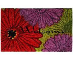 Andiamo, Zerbino Lulu, 100% fibra di cocco, Multicolore (Bunt), 50 x 75 cm
