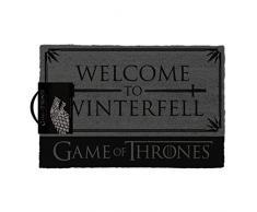 1art1 Il Trono di Spade - Welcome To Winterfell Zerbino (60 x 40cm)