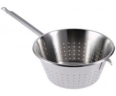 De Buyer - Scolapasta in acciaio inox con manici, Ø 24 Cm Conique diamètre 28