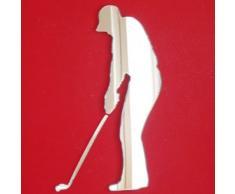 Super Cool Creations Specchio da golfo: 60 cm x 30 cm.
