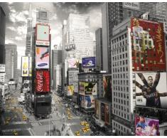 GB Eye-Stampa con Cornice, 40 x 50 cm, Motivo: New York, Times Square 5,08 cm (2) Mini Poster