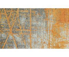 Wash&Dry Rustic Zerbino, Acrilico, Orange, 70 x 120 x 0.9 cm