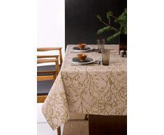 atenas home textile Tovaglia antimacchia Modello Raiz 150x300 Nero