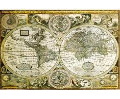 GB eye LTD, Mappa del Mondo, Historico, Maxi Poster, 61 x 91,5 cm