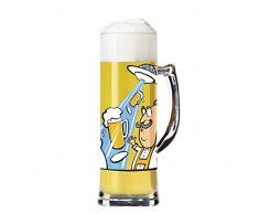 Ritzenhoff Boccale da birra con sottobicchieri, 0,5 l, designer: Martina Schlenke