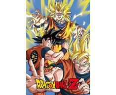 Goku Dragon Ball Z-Maxi Poster, multicolore