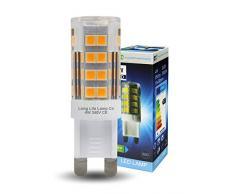 2Â x 4Â W G9Â LED Lampadina alogena 240Â V capsule lampada per lampadari, lampade da parete 35Â W equivalente