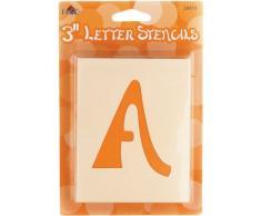 Cassetta postale lettera stencil-Swashbuckle lettera 3