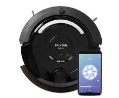 PRIXTON - Aspirapolvere Robot / Lavapavimenti Robot, Senza Fili con WiFi e app mobile, Con percorsi intelligenti, Funzione 4 in 1: Sweep, Scrub, Vacuum, Mop | Spire 916