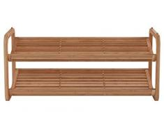 Zeller 13569 Scarpiera in bambù, 74 x 33 x 33 cm