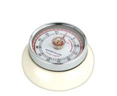 Zassenhaus 72334 - Timer da cucina Speed, colore: Crema