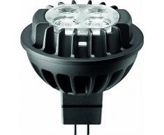 Philips 655404 - Lampada LED a faretto LED Master, da 7 W (corrispondenti a 35 W), 830 (bianco caldo), attacco GU5.3, angolo di illuminazione 36°, a intensità variabile, riflettore 50 mm, 12 V, 1050 cd, 400 lm