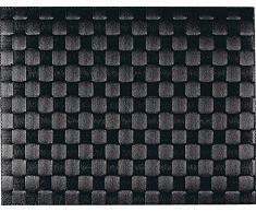 Saleen - Tovaglietta americana rettangolare, 30 x 40 cm, Nero, 1 pezzo