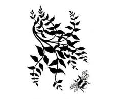 Creative Expressions - Timbro, soggetto: il giardino botanico, set da 2 pezzi