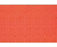 Linder - Tovaglia Rettangolare 100% Poliestere, 165 x 200 cm, Colore: Arancione