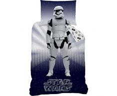 STAR WARS 044821 Stormtrooper Renforce Biancheria da letto, Cotone, Multicolore, 140 x 200 cm