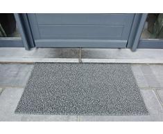 AstroTurf Classic Zerbino per Ingresso da Esterno, Polietilene, Grigio Chiaro, 90x55x2 cm