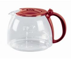 Rowenta ZK346 - Caraffa per caffè americano, olore coperchio: rosso