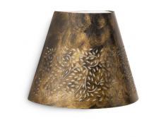 Philips Meadow Lampada da Parete da Esterno con Ornamento Metallo, Nero Spazzolato
