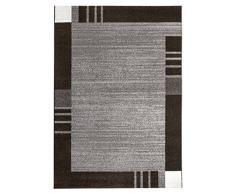 Andiamo tappeto bordo Grasse Web Tappeto Passatoia, Polipropilene, grau, 120 x 170 cm