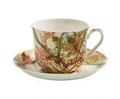 Maxwell & Williams Tazza per la Colazione, con Piattino, Cottage Blossom, Porcellana, WK00300