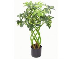 Arboricola - Cespuglio artificiale in vaso nero, 70 cm