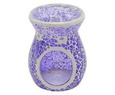 Candle Lite–Tea Light Lampada di fragranza, musina, Viola, 9x 9x 10cm